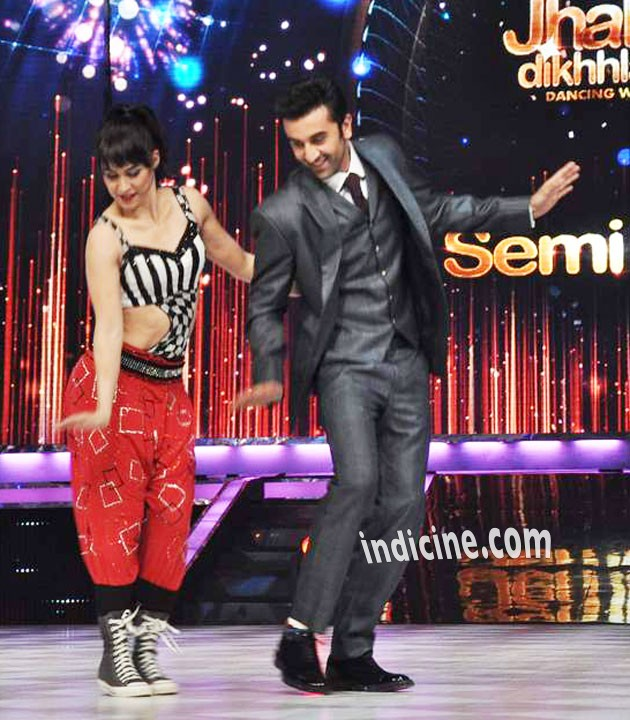 Ranbir Kapoor performs with Lauren Gottlieb