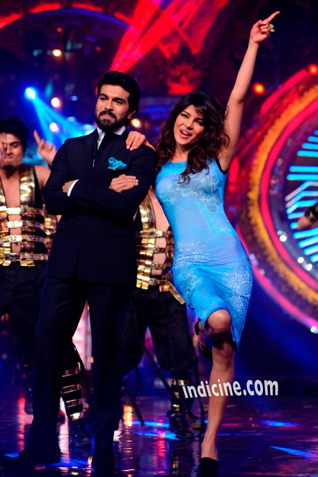Priyanka Chopra, Ram Charan Teja at Indian Idol Junior Grand Finale