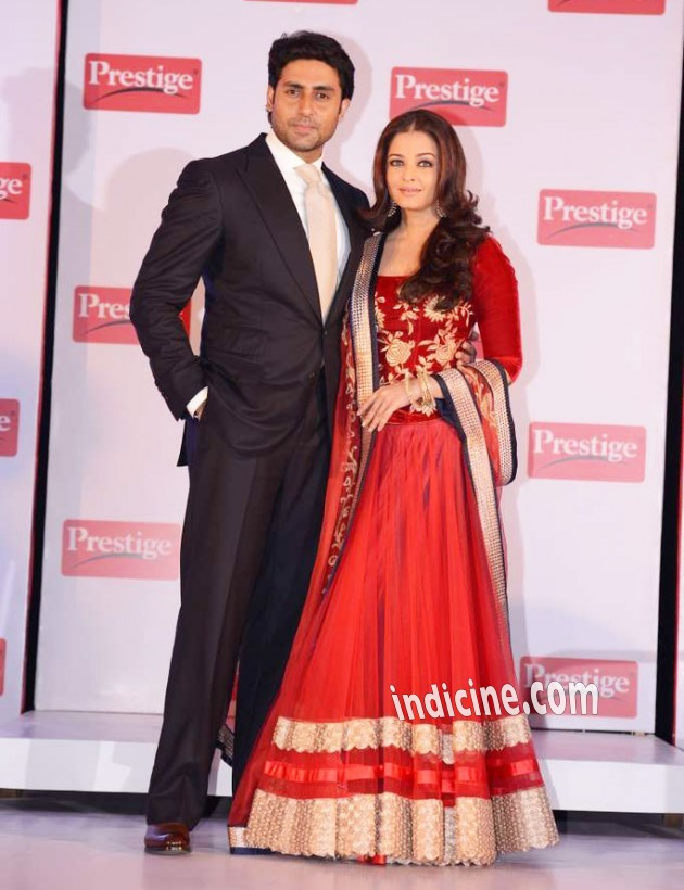 Aishwarya Rai in Jade by Monica and Karishma