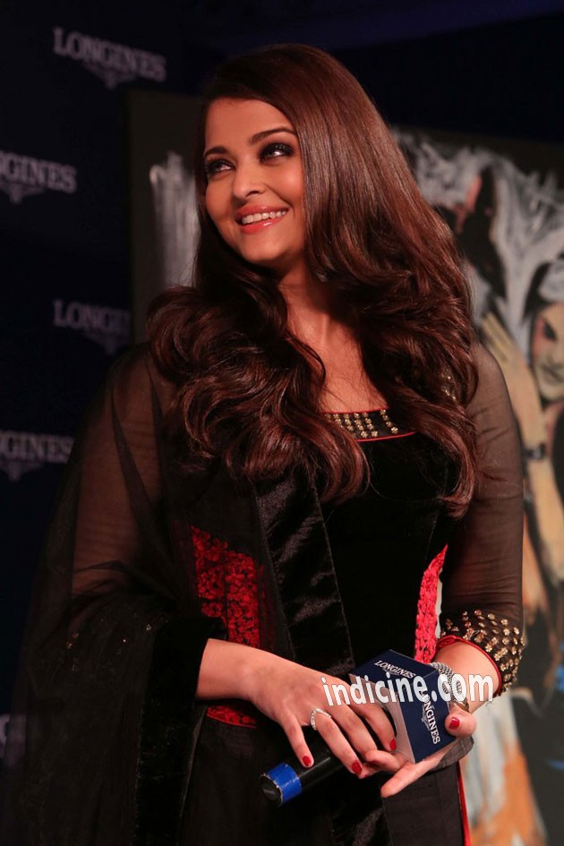 Aishwarya - new collection of Longines Watch launch