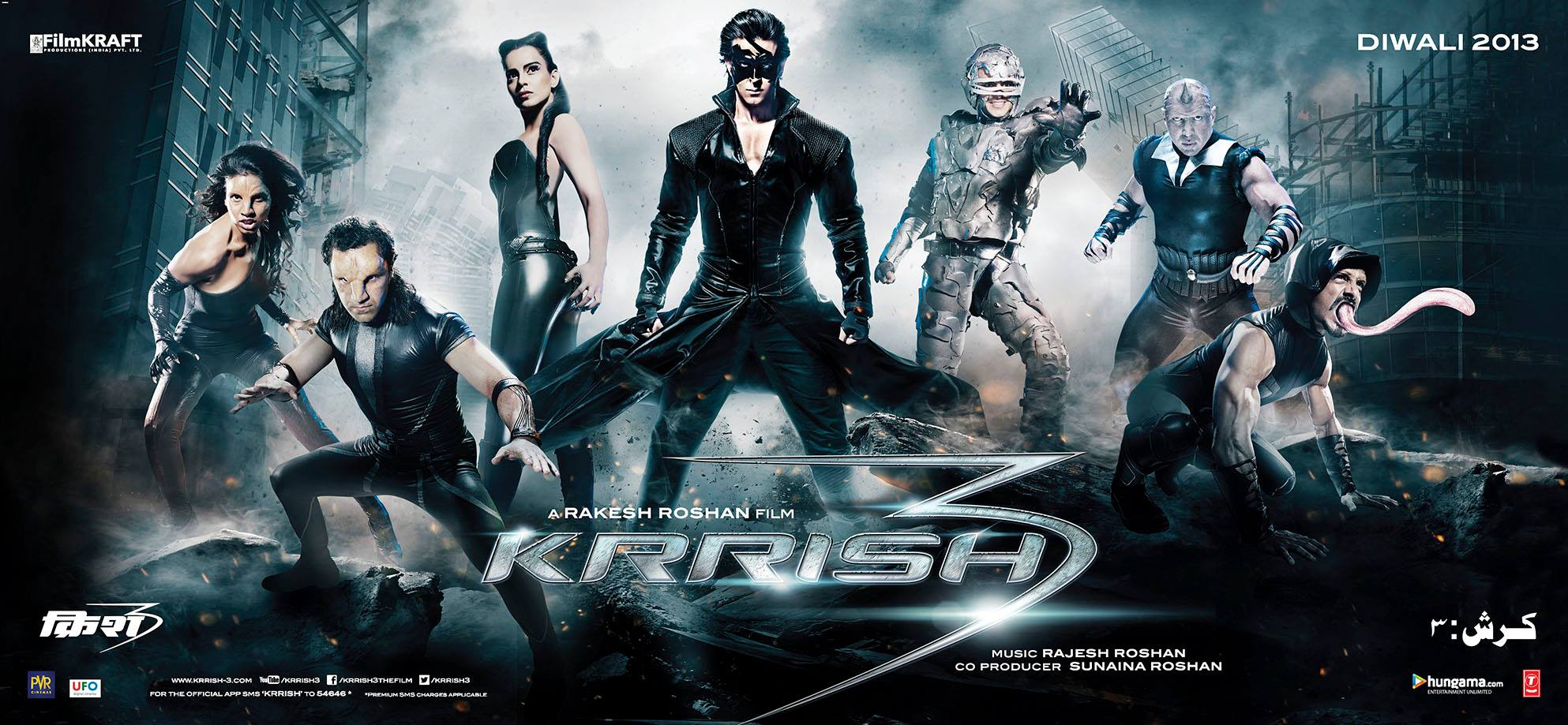 closer look at the baddies in krrish 3: photos