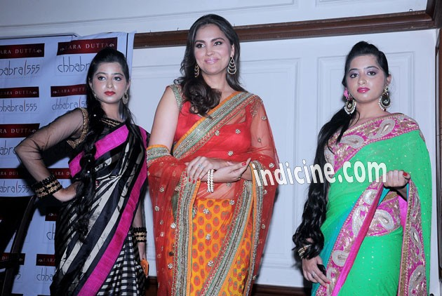 Lara Dutta launches her own Indian wear line Lara Dutta - Chhabra 555