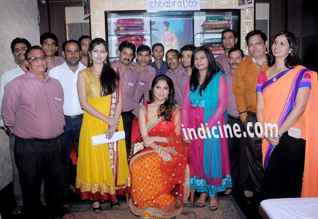 Lara - her own Indian wear line Lara Dutta - Chhabra 555 launch