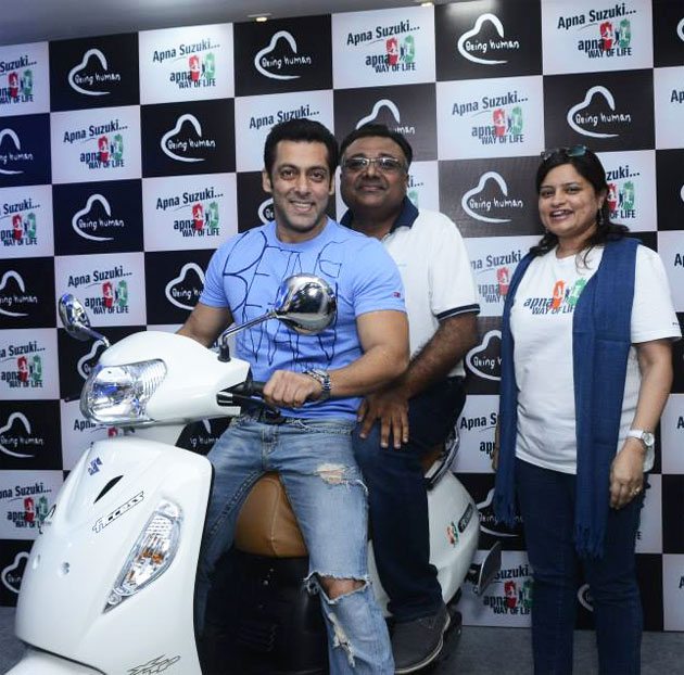 Salman Khan launches Suzuki Salman Khan ties up