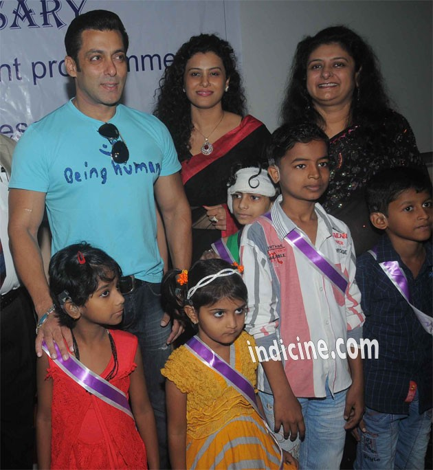 Salman Khan meets special kids at Holy Family Hospital