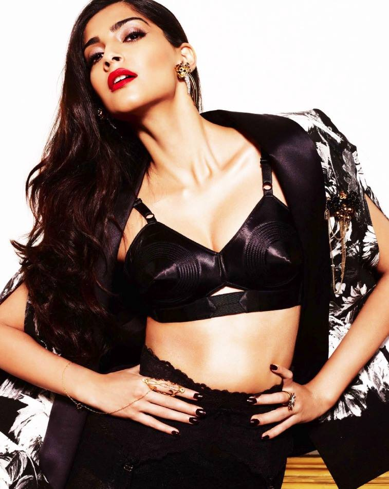 Sonam Kapoor shoot for GQ Men of the Year