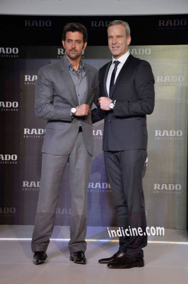 Hrithik - Rado HyperChrome Ceramic watches launch