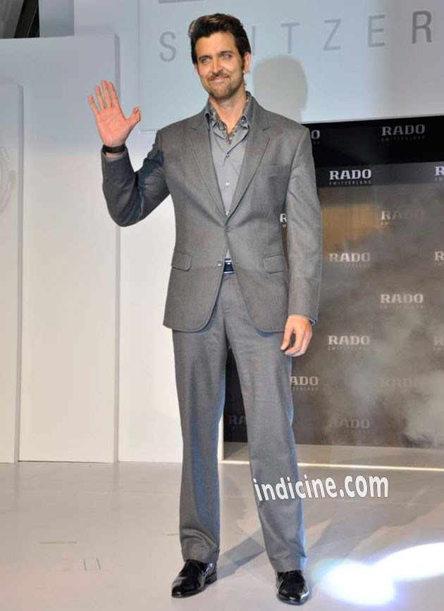 Hrithik Roshan - Rado HyperChrome Ceramic watches launch