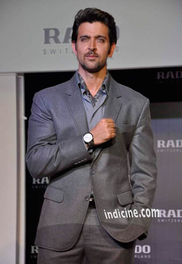 Hrithik Roshan at Rado HyperChrome Ceramic watches launch