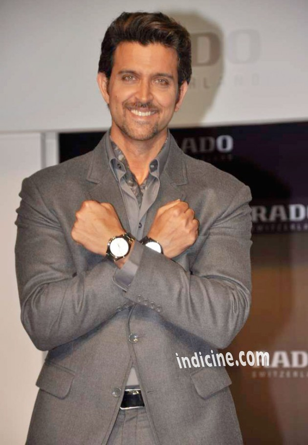 Hrithik Roshan launches Rado HyperChrome Ceramic watches