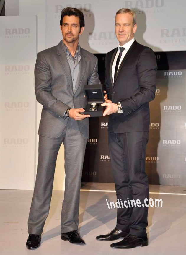 Hrithik at Rado HyperChrome Ceramic watches launch