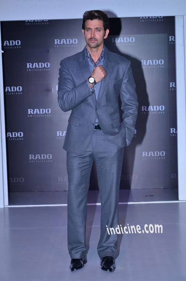 Hrithik launches Rado HyperChrome Ceramic watches