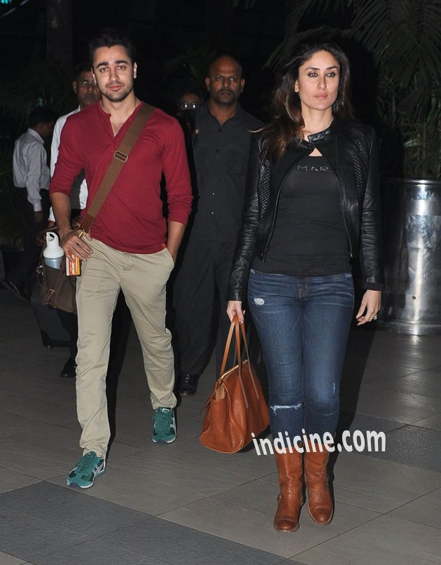 Imran, Kareena return from Delhi after GTPM promotion