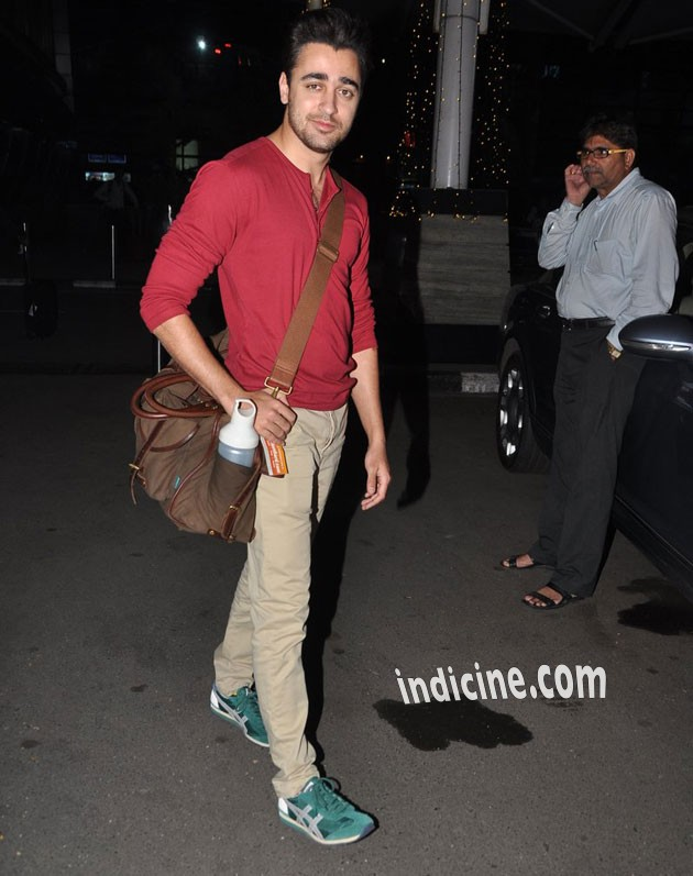 Imran returns from Delhi after Gori Tere Pyaar Mein promotion