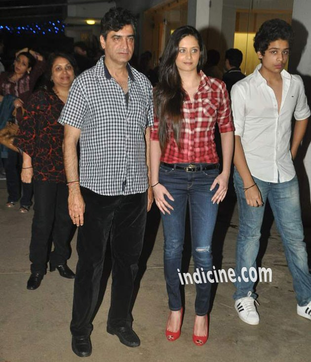 Indra Kumar with family