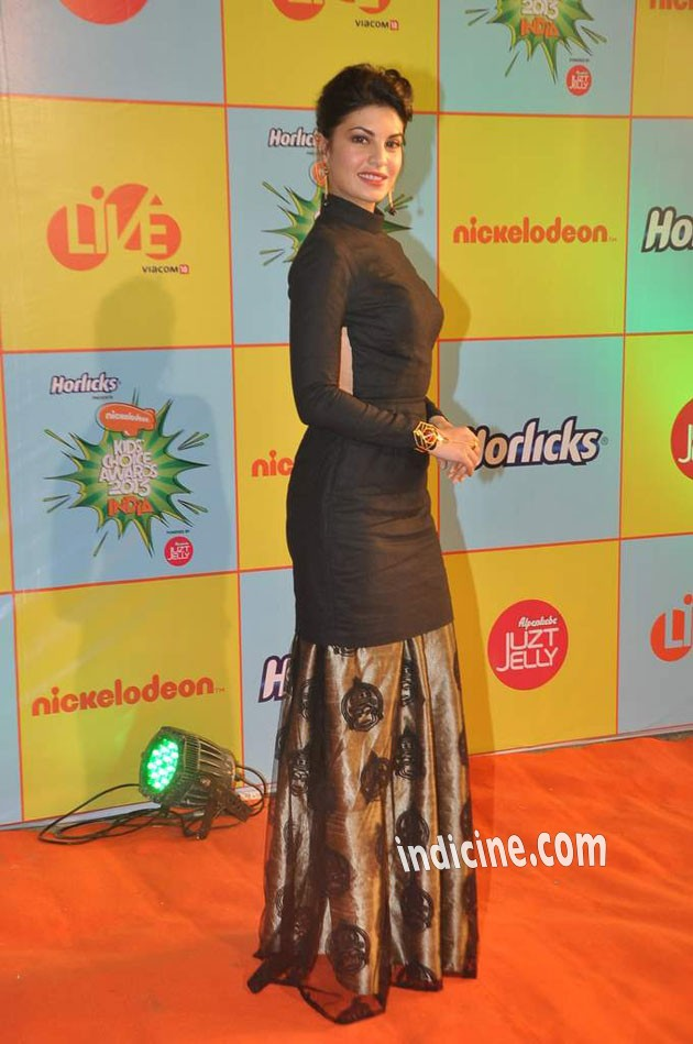 Jacqueline Fernandes at Nickelodeon Kids Choice awards