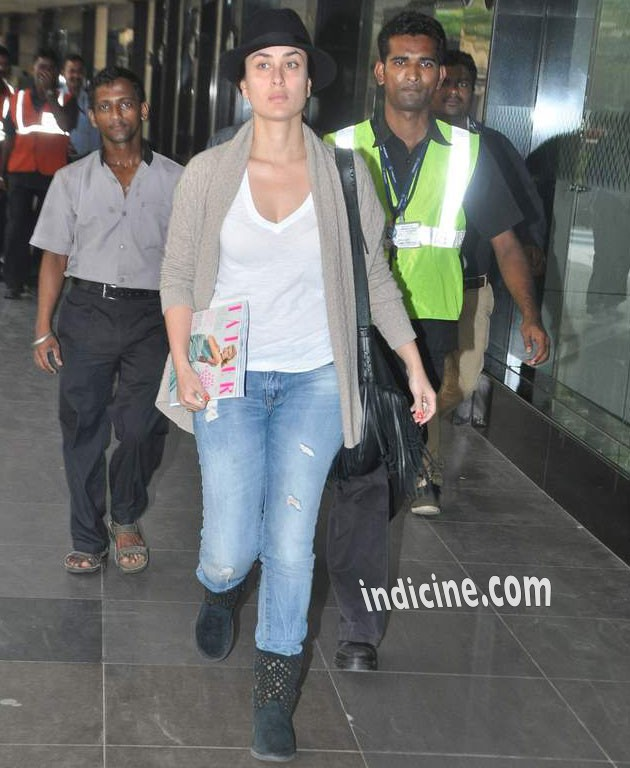 Kareena Kapoor Khan returns to Mumbai