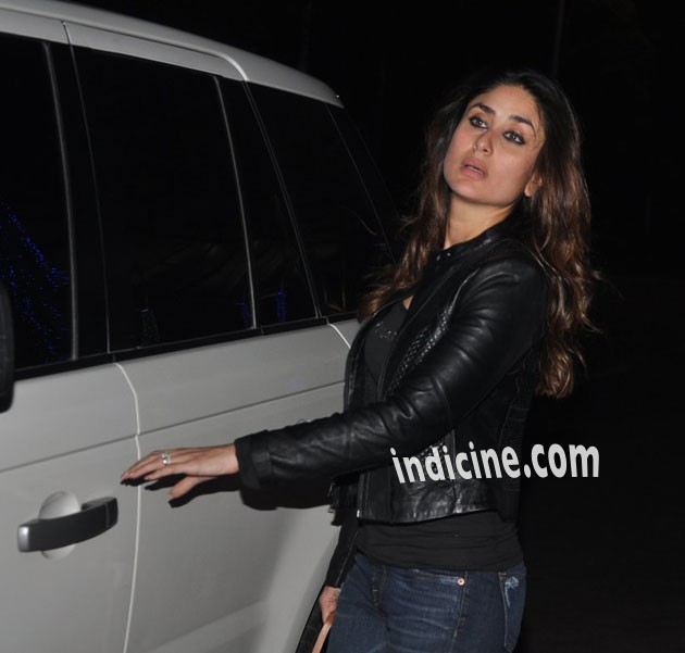 Kareena Kapoor returns from Delhi