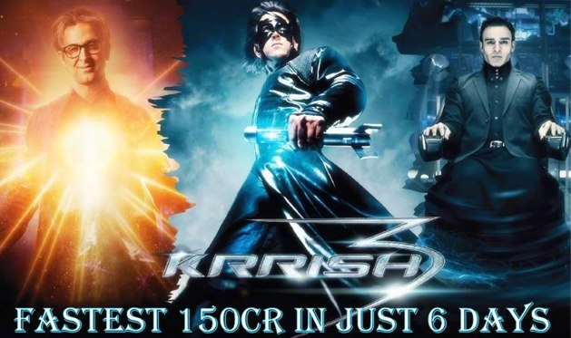 Krrish 3 first week box office collections - Krrish box office collection ...