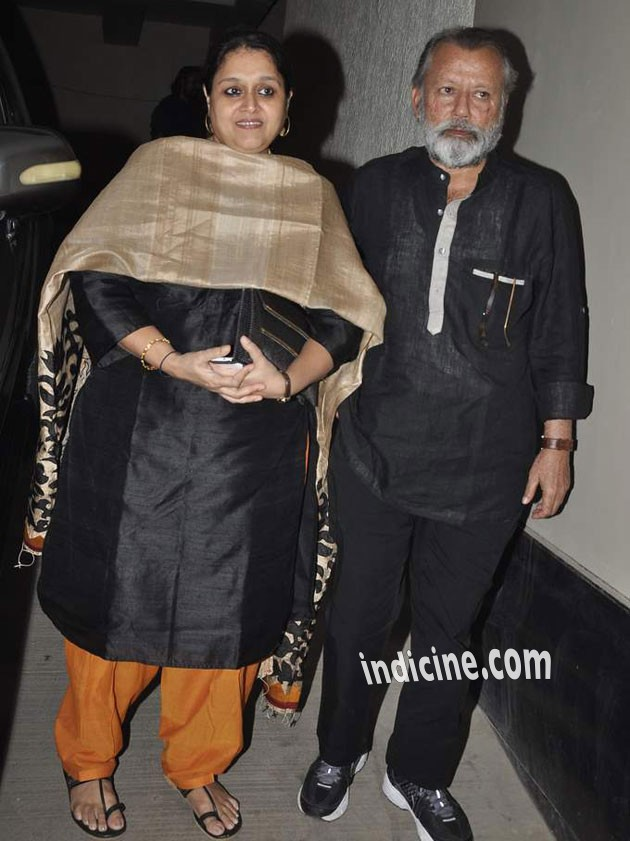 Pankaj Kapoor with wife Supriya Pathak