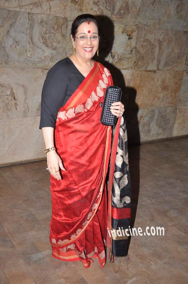 Poonam Sinha at Ram leela screening