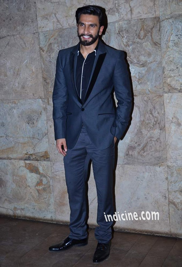 Ranveer Singh at Ram leela screening
