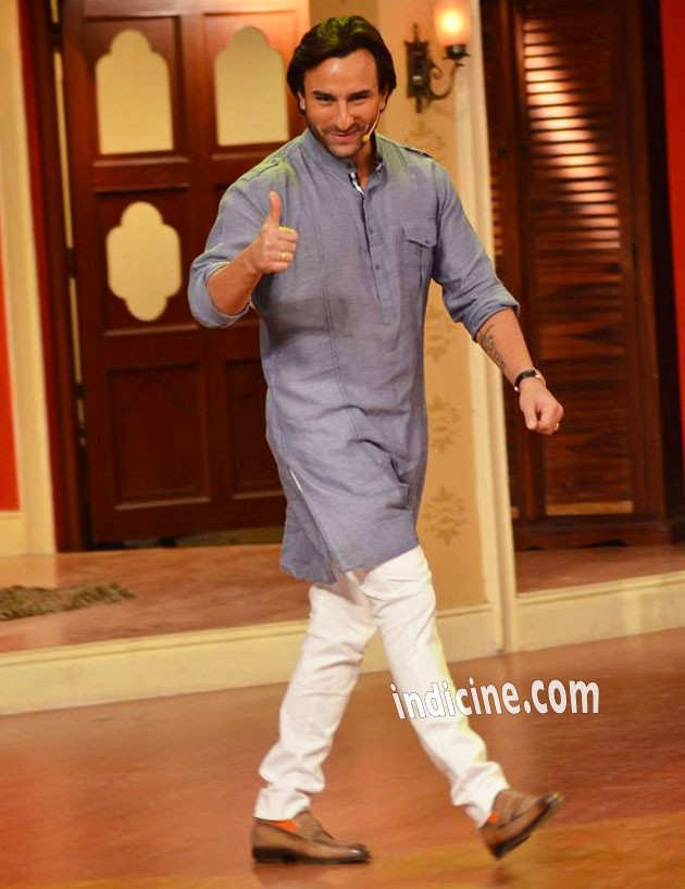 Saif Ali Khan at Bullett Raja promotional event