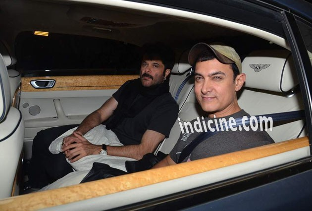 Aamir Khan with Anil Kapoor