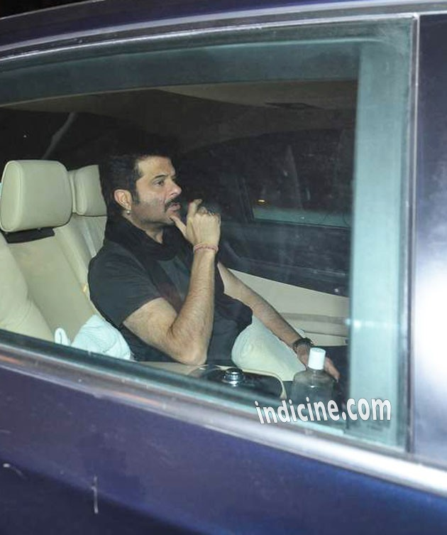 Anil Kapoor at Salman Khan's birthday bash