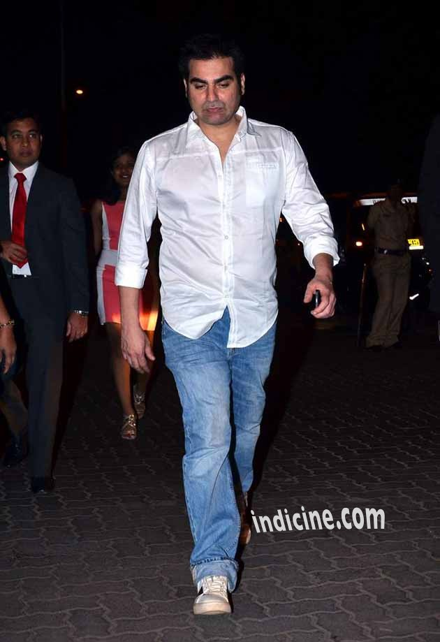 Arbaaz Khan at Christmas Midnight Mass