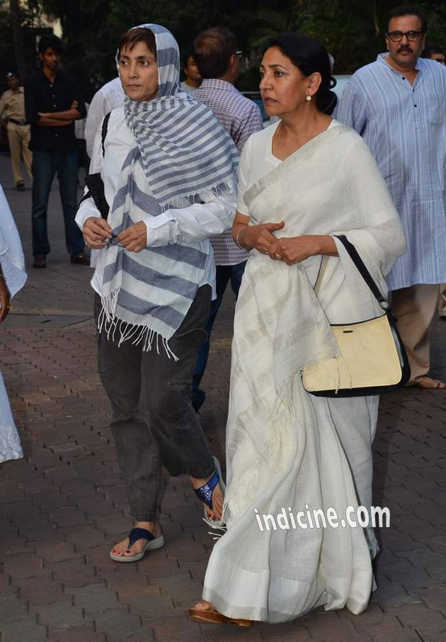 Deepa Sahi and Deepti Naval