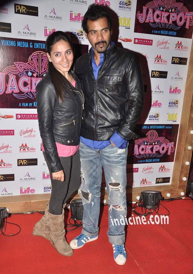 Kanchi Kaul with husband Shabbir Ahluwalia