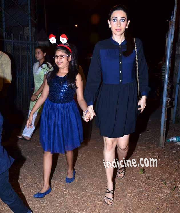 Karishma Kapoor with daughter Samaira Kapoor