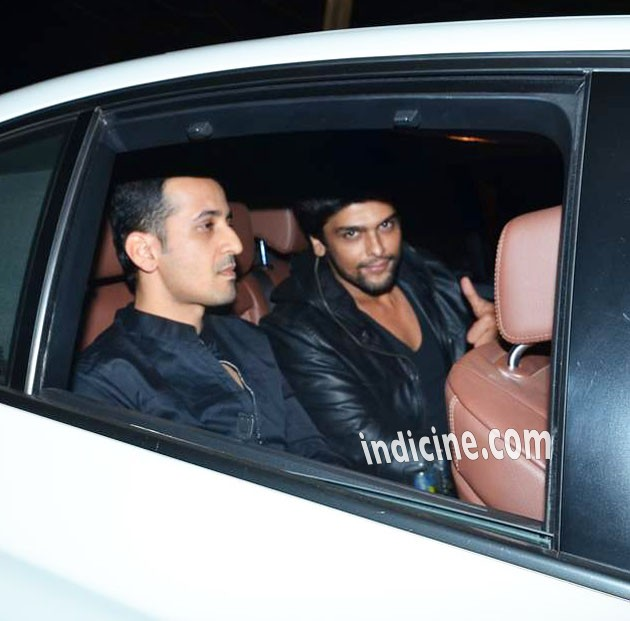 Kushal Tandon at Salman Khan's birthday bash in Panvel