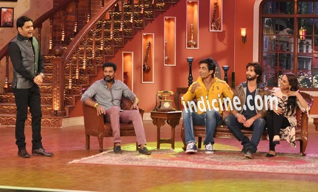 Promotion of R Rajkumar on Comedy Nights with Kapil