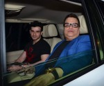Ramesh Taurani, Girish Taurani at Salman Khan's birthday bash
