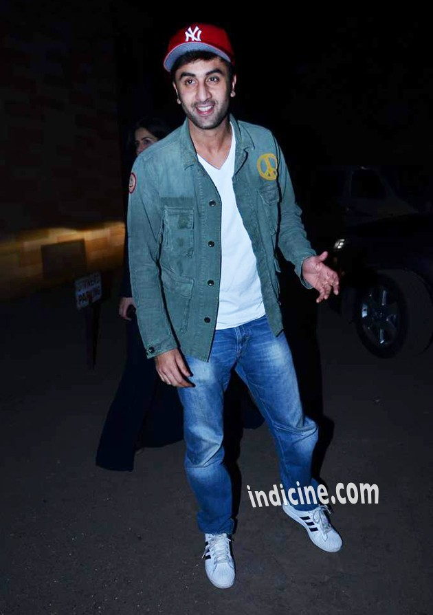 Ranbir Kapoor at special screening of The Wolf Of Wall Street