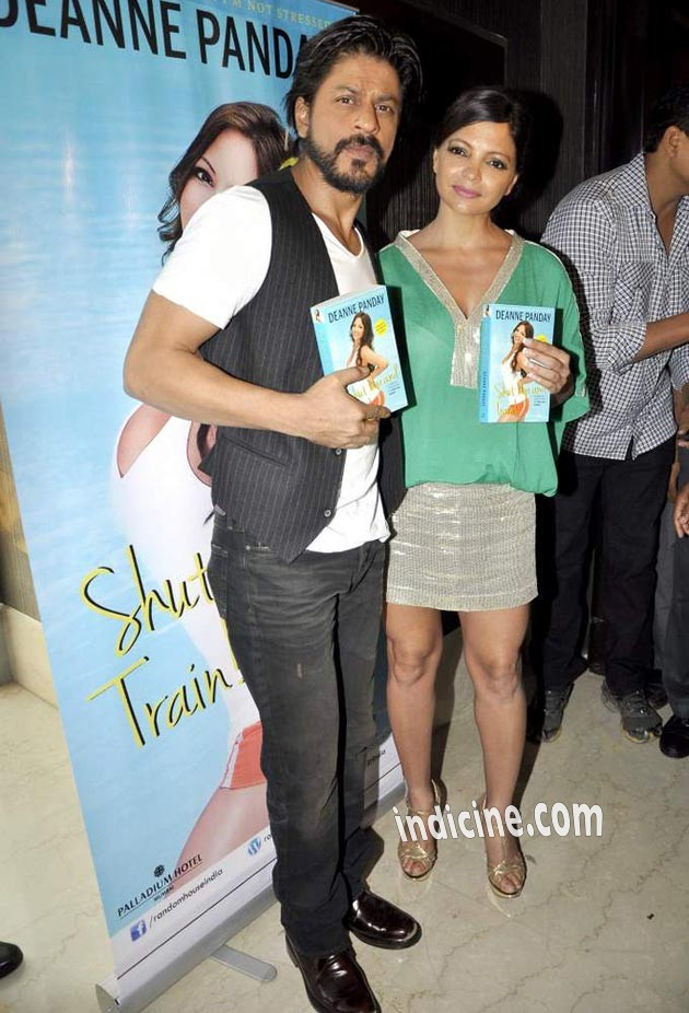 Shahrukh Khan with Deanne Panday