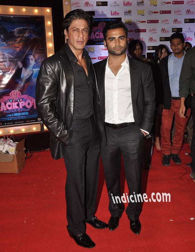 Shahrukh Khan with Sachiin Joshi