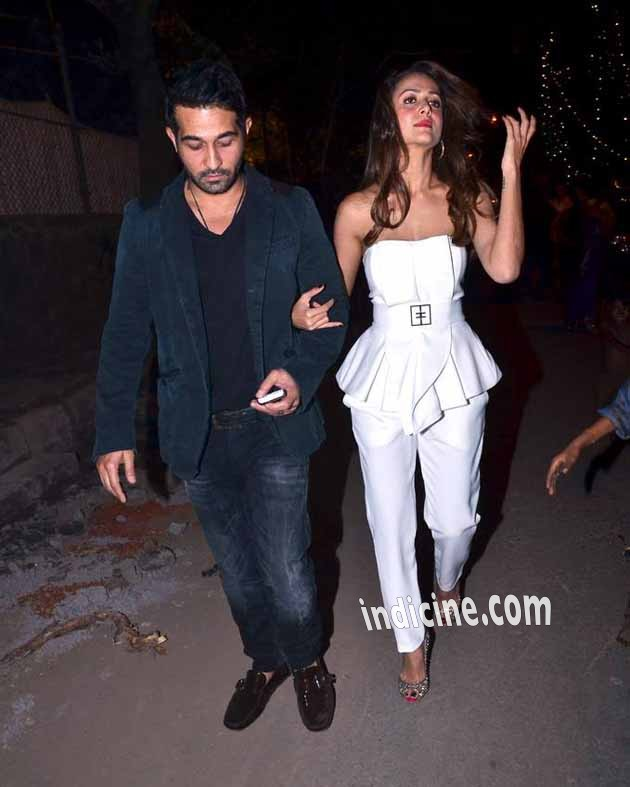 Shakeel Ladak with wife Amrita Arora