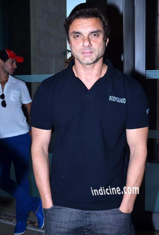 Sohail Khan at launch of Deanne Pandey's fitness book Shut Up and Train