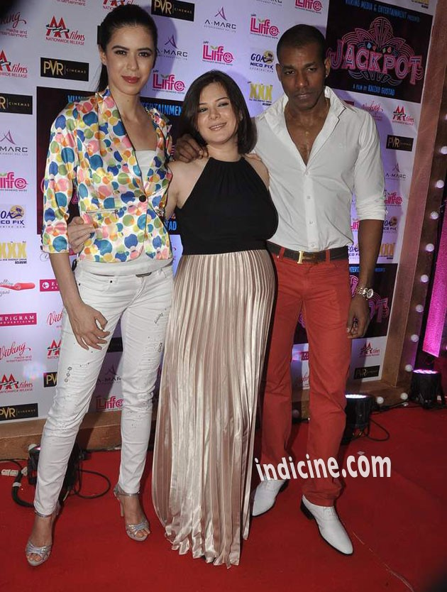 Urvashi Sharma with Sucheta Sharma and Harrison James