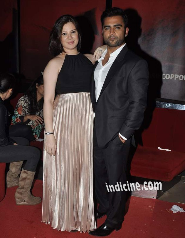 Urvashi Sharma with husband Sachiin Joshi