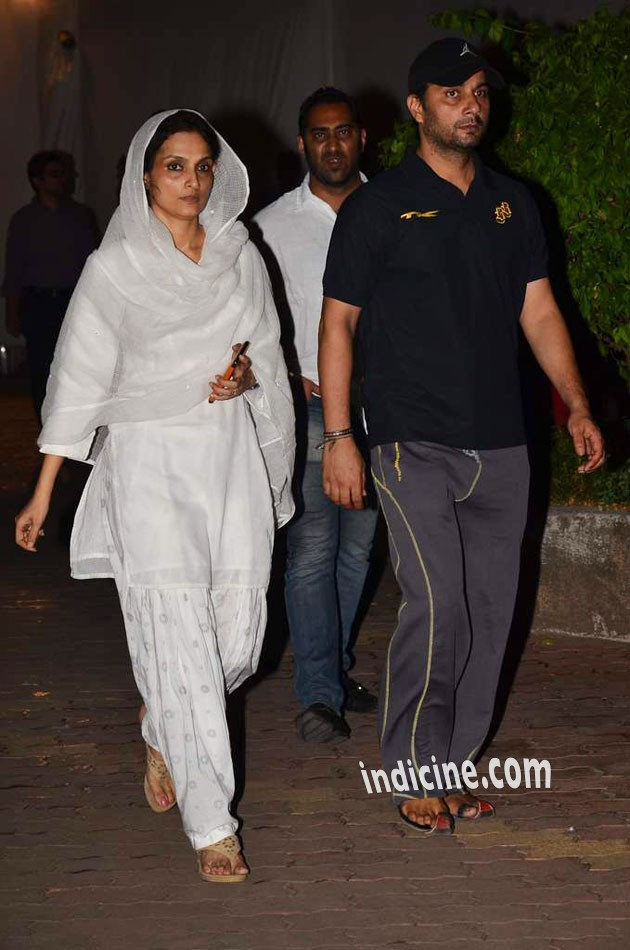Varun Badola with wife Rajeshwari Sachdev