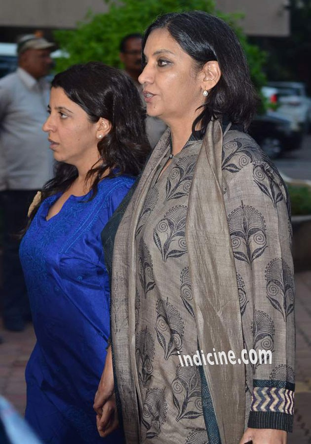 Zoya Akhtar and Shabana Azmi