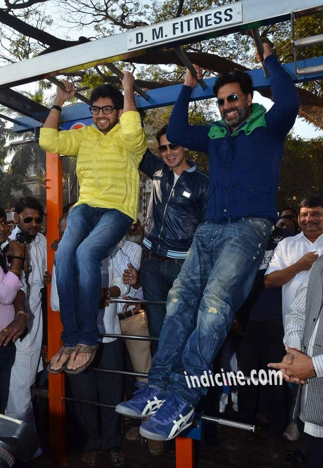 Aditya Thackeray and Akshay kumar