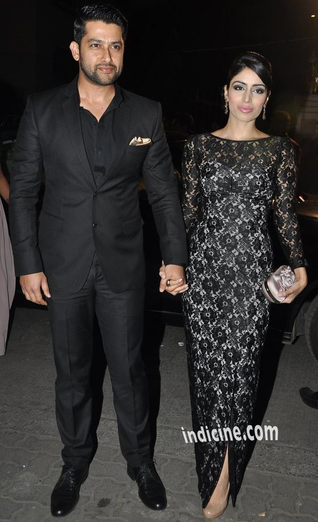 Aftab Shivdasani with wife Nin Dusanj