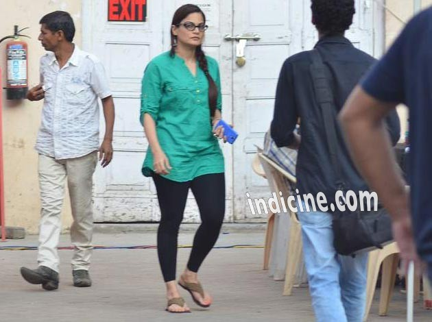 Alvira Khan Agnihotri at Mehboob Studio