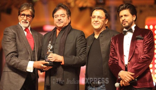 Amitabh Bachchan's Lifetime Achievement Award : Photo Credit Indian Express