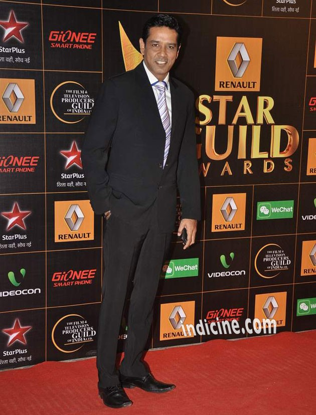Anup Soni at Star Guild Awards 2014